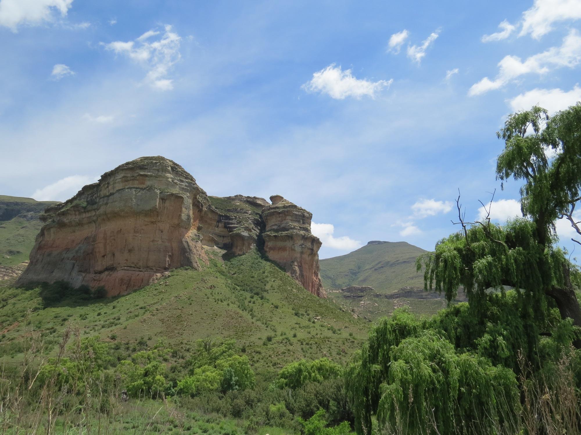 Omgeving Clarens Zuid-Afrika