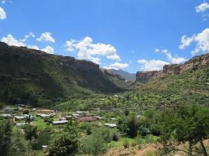 Dorpjes en landschap Lesotho