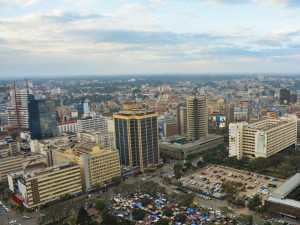 Nairobi Stad Kenia