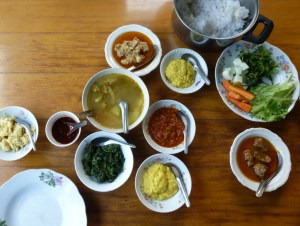 Authentiek eten Myanmar