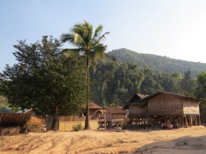 Dorpje-in-Nam-Ha-NP-Laos