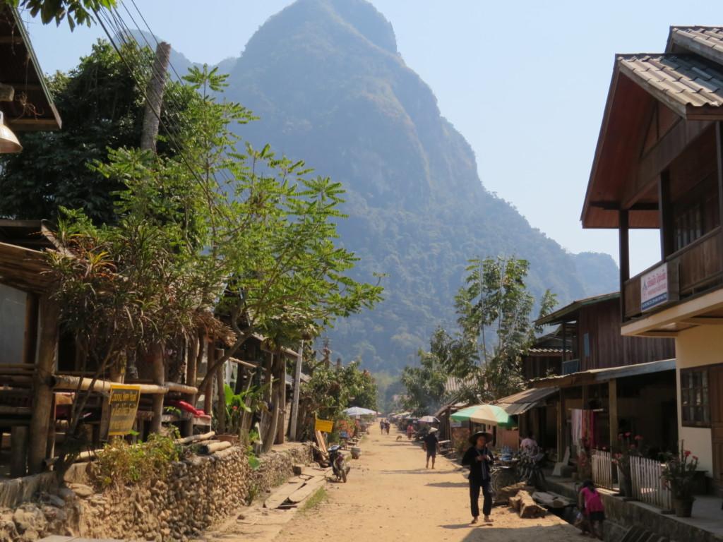 Dorpsleven-Muang-Ngoi-Laos