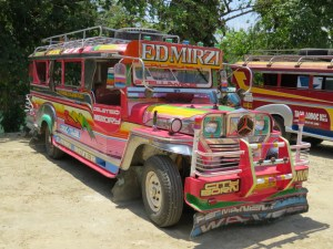 Jeepney vervoer Filipijnen