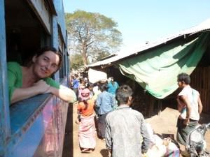 Met de trein reizen in Myanmar