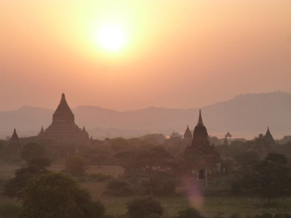 Tempels van Bagan Myanmar