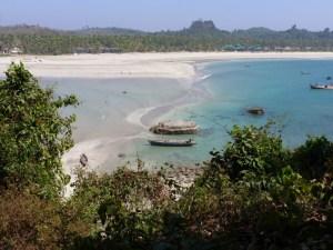 Ngwe Saung strand