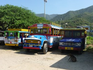Transport-bussen-Colombia