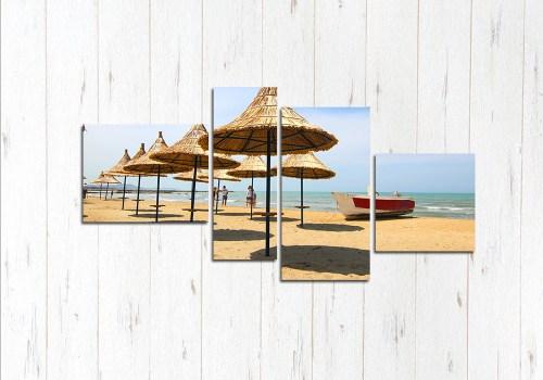 Модульная картина Пляж мечты