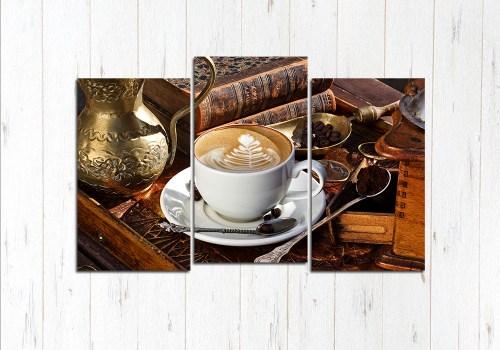 Модульная картина Элитный кофе