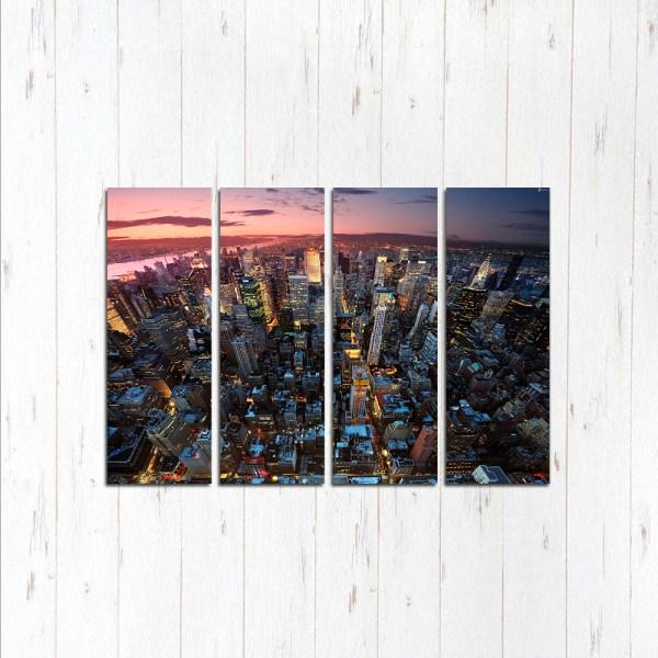 Модульная картина Гонконг рассвет