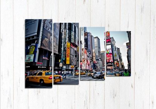 Модульная картина Мир Нью-Йорка