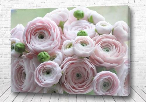 Постер Светлые цветы