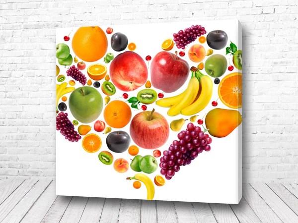 Постер Фруктовое сердце Быстрый заказ