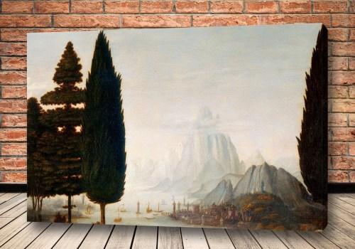 Картина Благовещение - пейзаж