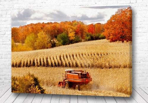 Постер Осенние работы