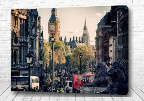 Постер Лондонский день