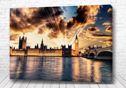 Постер Загадочный Лондон