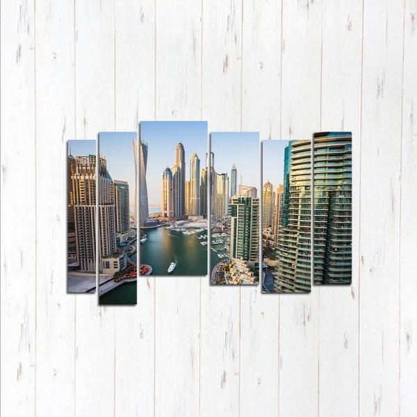 Модульная картина Высота Дубай