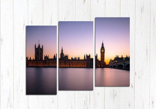 Модульная картина Рассвет в Лондоне