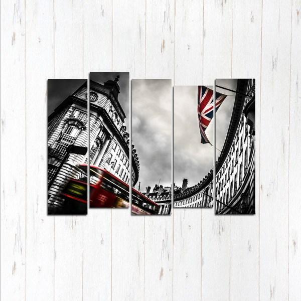 Модульная картина Лондонский постер