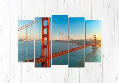 Модульная картина Великие мост