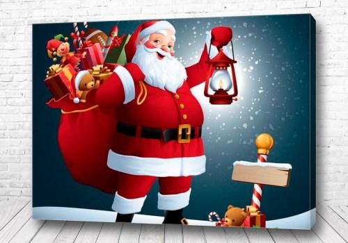 Постер Санта мультик