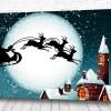 Постер Дед мороз над крышами
