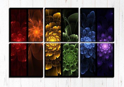 Модульная картина Яркие узоры