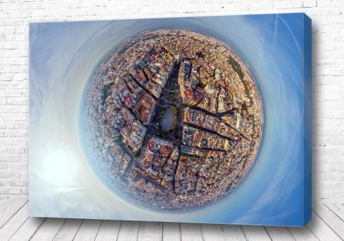 Постер Валенсия 360 градусов