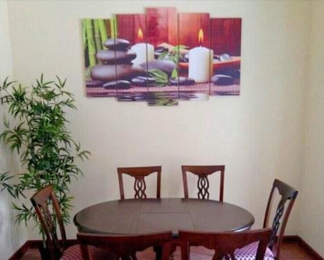 Модульная картина в комнату отдыха