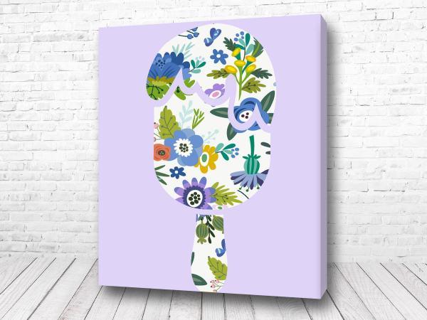 Постер Цветная голова