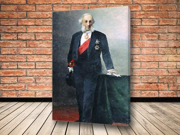 Картина Автопортрет 1898 Айвазовского