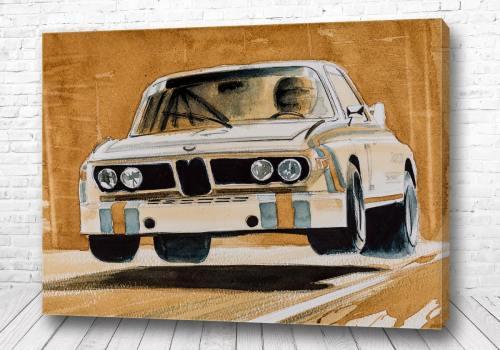 Постер Прыжок BMW
