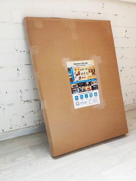 Модульная картина Одуванчик упаковка в коробку
