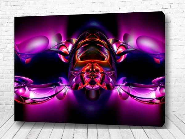 Постер Фиолетовый механизм