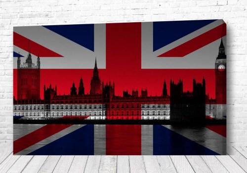 Постер Флаг Лондона
