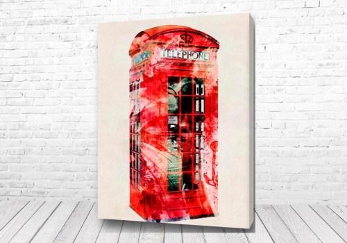 Постер Красная будка