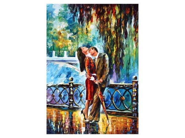 Картина нежный поцелуй