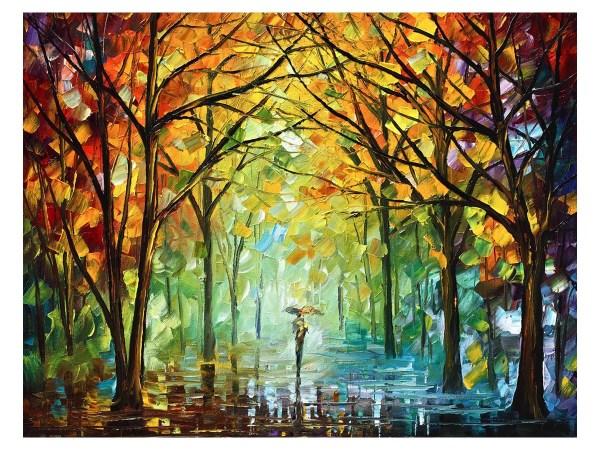 Картина Осенний парк