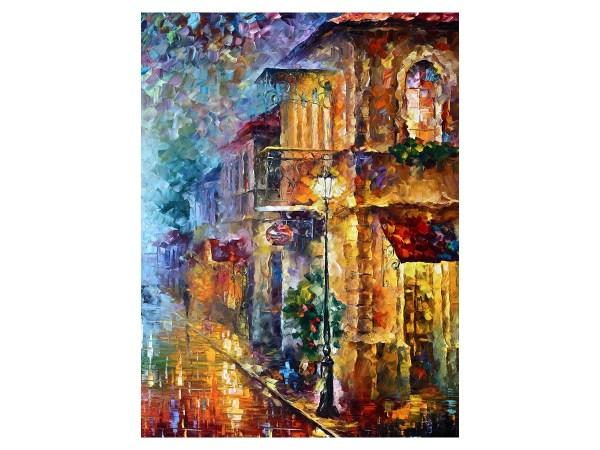 Картина Тихая улочка