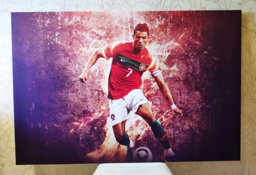 Постер Роналдо на холсте