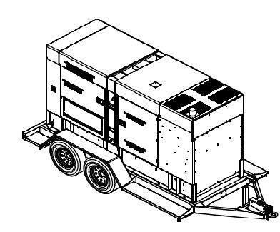Diesel Portable Power Generation model HRJW 325 T4F By