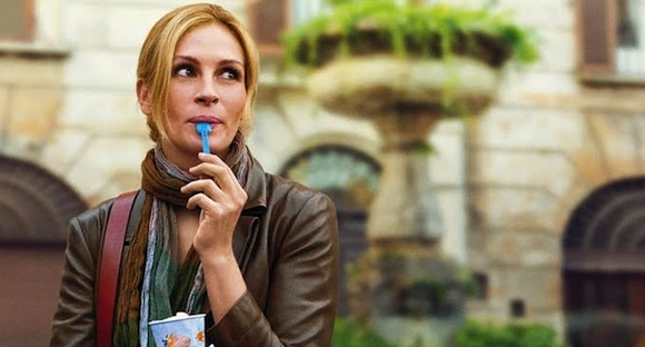 Julia Roberts in eat pray love by Elizabeth Liz Gilbert