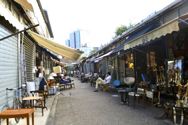 hip chair rental white bistro hire a look inside the marché aux puces de saint-ouen, part i: paul bert | paris blog