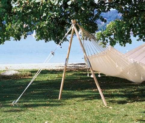 Hangmat En Standaard.Amazonas Madera Standaard