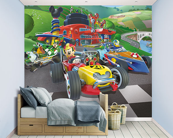 posterbehang Mickey mouse