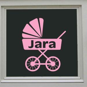 raamsticker kinderwagen