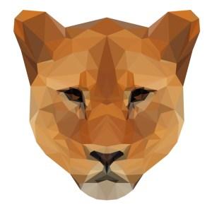 muursticker diamond leeuwin