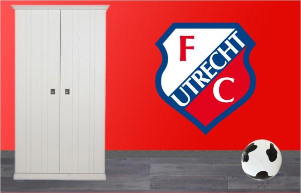 muursticker FC Utrecht
