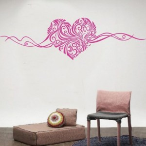 muursticker heart
